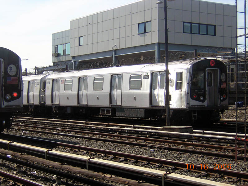 (130k, 800x600)<br><b>Country:</b> United States<br><b>City:</b> New York<br><b>System:</b> New York City Transit<br><b>Location:</b> Rockaway Parkway (Canarsie) Yard<br><b>Car:</b> R-143 (Kawasaki, 2001-2002) 8112 <br><b>Photo by:</b> Robert Mencher<br><b>Date:</b> 10/16/2006<br><b>Viewed (this week/total):</b> 2 / 2364