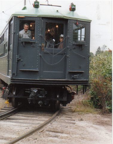 (34k, 378x480)<br><b>Country:</b> United States<br><b>City:</b> East Haven/Branford, Ct.<br><b>System:</b> Shore Line Trolley Museum <br><b>Car:</b> Low-V 5466 <br><b>Collection of:</b> Vic Gordon<br><b>Notes:</b> On loop at Shore Line.<br><b>Viewed (this week/total):</b> 0 / 858