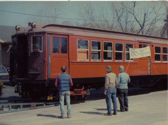 (48k, 640x478)<br><b>Country:</b> United States<br><b>City:</b> East Haven/Branford, Ct.<br><b>System:</b> Shore Line Trolley Museum <br><b>Car:</b> Low-V 5466 <br><b>Collection of:</b> Vic Gordon<br><b>Notes:</b> Arriving at Shore Line.<br><b>Viewed (this week/total):</b> 0 / 882