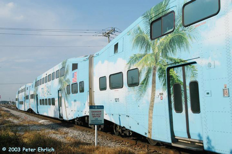 (153k, 792x526)<br><b>Country:</b> United States<br><b>City:</b> Miami, FL<br><b>System:</b> Miami Tri-Rail<br><b>Location:</b> Metrorail Transfer (Metrorail, Amtrak) <br><b>Car:</b>  1011/1006 <br><b>Photo by:</b> Peter Ehrlich<br><b>Date:</b> 4/25/2003<br><b>Viewed (this week/total):</b> 1 / 2200