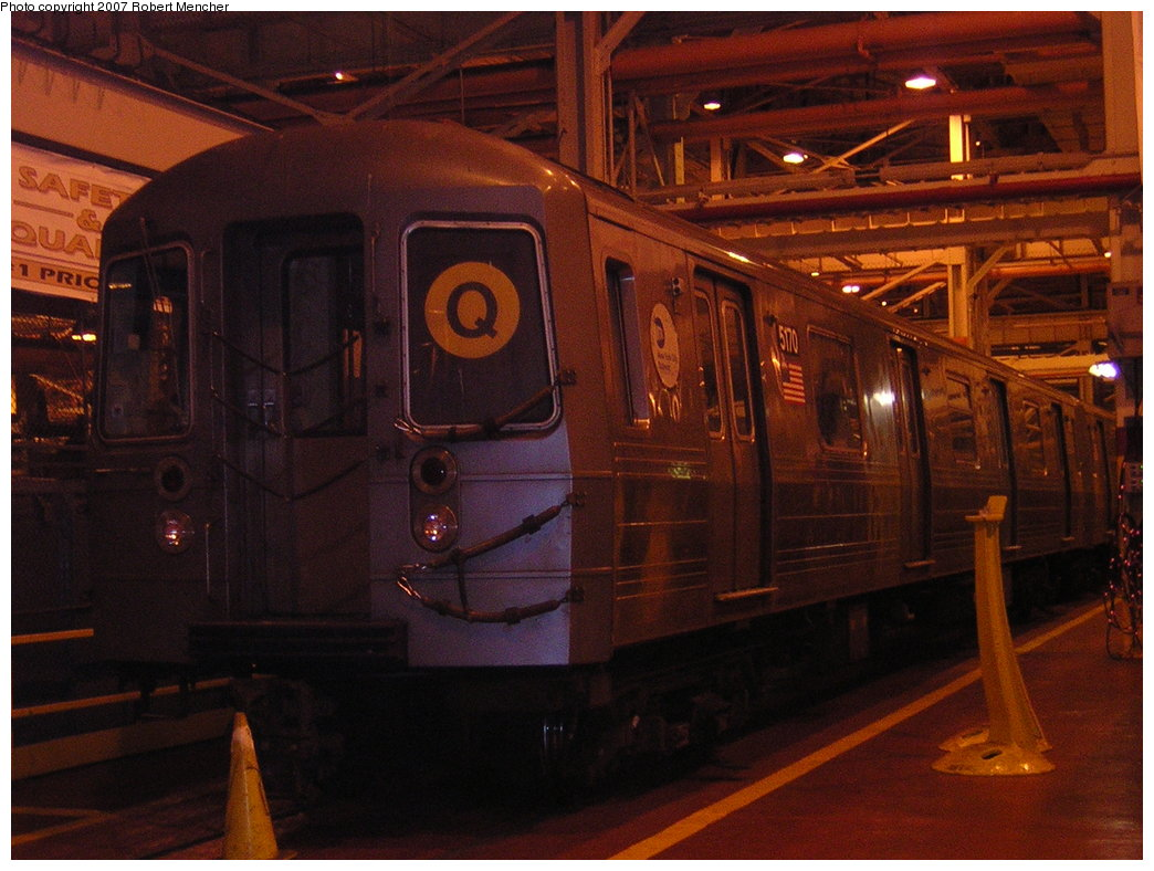(201k, 1044x788)<br><b>Country:</b> United States<br><b>City:</b> New York<br><b>System:</b> New York City Transit<br><b>Location:</b> Coney Island Shop/Overhaul & Repair Shop<br><b>Car:</b> R-68A (Kawasaki, 1988-1989)  5070 <br><b>Photo by:</b> Robert Mencher<br><b>Date:</b> 2/9/2007<br><b>Viewed (this week/total):</b> 2 / 1359