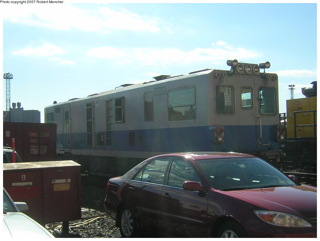 (145k, 1044x788)<br><b>Country:</b> United States<br><b>City:</b> New York<br><b>System:</b> New York City Transit<br><b>Location:</b> Coney Island Yard<br><b>Car:</b> Track Geometry Car TGC1 <br><b>Photo by:</b> Robert Mencher<br><b>Date:</b> 2/9/2007<br><b>Viewed (this week/total):</b> 2 / 2003