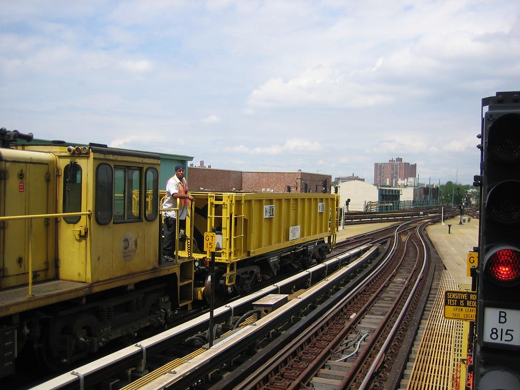 (122k, 1024x768)<br><b>Country:</b> United States<br><b>City:</b> New York<br><b>System:</b> New York City Transit<br><b>Location:</b> Coney Island/Stillwell Avenue<br><b>Route:</b> Work Service<br><b>Car:</b> R-116 MoW Hopper  317 <br><b>Photo by:</b> Michael Hodurski<br><b>Date:</b> 8/4/2006<br><b>Viewed (this week/total):</b> 1 / 1314
