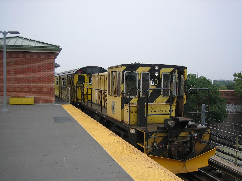 (102k, 1024x768)<br><b>Country:</b> United States<br><b>City:</b> New York<br><b>System:</b> New York City Transit<br><b>Location:</b> Coney Island/Stillwell Avenue<br><b>Route:</b> Work Service<br><b>Car:</b> R-43 Locomotive  60 <br><b>Photo by:</b> Michael Hodurski<br><b>Date:</b> 7/12/2006<br><b>Viewed (this week/total):</b> 5 / 1911