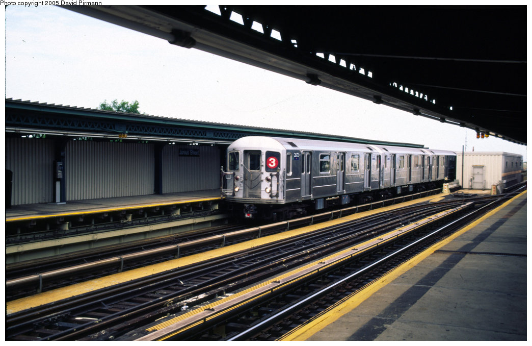 (183k, 1044x678)<br><b>Country:</b> United States<br><b>City:</b> New York<br><b>System:</b> New York City Transit<br><b>Line:</b> IRT Brooklyn Line<br><b>Location:</b> Junius Street <br><b>Route:</b> 3<br><b>Car:</b> R-62A (Bombardier, 1984-1987)  2072 <br><b>Photo by:</b> David Pirmann<br><b>Date:</b> 7/21/1999<br><b>Viewed (this week/total):</b> 1 / 4158