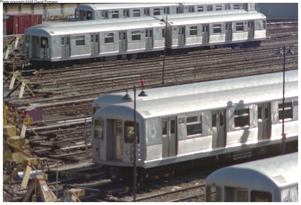 (221k, 1044x711)<br><b>Country:</b> United States<br><b>City:</b> New York<br><b>System:</b> New York City Transit<br><b>Location:</b> East New York Yard/Shops<br><b>Car:</b> R-42 (St. Louis, 1969-1970)  4872 <br><b>Photo by:</b> David Pirmann<br><b>Date:</b> 10/11/1996<br><b>Notes:</b> View from Broadway Junction<br><b>Viewed (this week/total):</b> 4 / 4190
