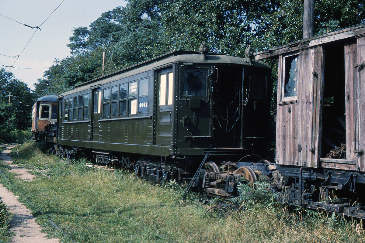 (580k, 1044x712)<br><b>Country:</b> United States<br><b>City:</b> East Haven/Branford, Ct.<br><b>System:</b> Shore Line Trolley Museum <br><b>Car:</b> Hi-V 3662 <br><b>Photo by:</b> Ed Davis, Sr.<br><b>Collection of:</b> David Pirmann<br><b>Viewed (this week/total):</b> 2 / 2533