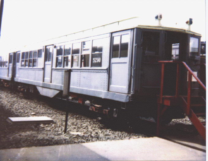 (55k, 680x527)<br><b>Country:</b> United States<br><b>City:</b> New York<br><b>System:</b> New York City Transit<br><b>Location:</b> Coney Island Yard-Museum Yard<br><b>Car:</b> Low-V (Museum Train) 5290 <br><b>Date:</b> 1998<br><b>Viewed (this week/total):</b> 2 / 2402
