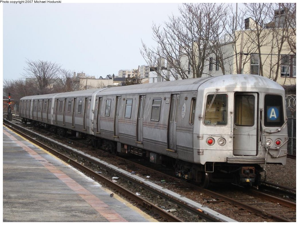 (206k, 1044x788)<br><b>Country:</b> United States<br><b>City:</b> New York<br><b>System:</b> New York City Transit<br><b>Location:</b> Rockaway Park Yard<br><b>Car:</b> R-44 (St. Louis, 1971-73) 5268 <br><b>Photo by:</b> Michael Hodurski<br><b>Date:</b> 3/10/2007<br><b>Viewed (this week/total):</b> 0 / 2257