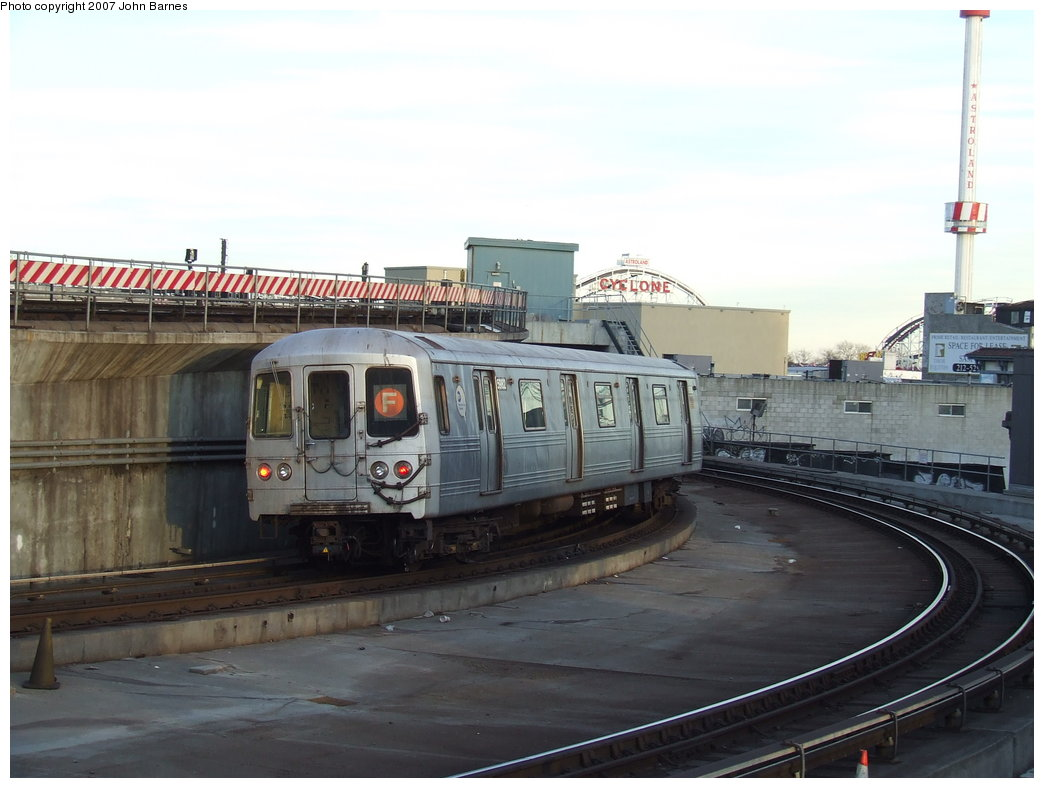 (143k, 1044x788)<br><b>Country:</b> United States<br><b>City:</b> New York<br><b>System:</b> New York City Transit<br><b>Location:</b> Coney Island/Stillwell Avenue<br><b>Route:</b> F<br><b>Car:</b> R-46 (Pullman-Standard, 1974-75) 5982 <br><b>Photo by:</b> John Barnes<br><b>Date:</b> 3/28/2007<br><b>Viewed (this week/total):</b> 3 / 1874