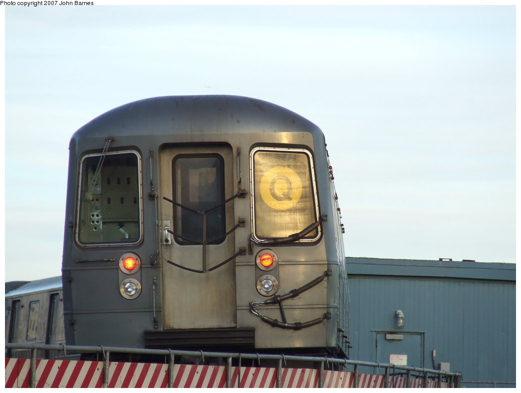 (112k, 1044x788)<br><b>Country:</b> United States<br><b>City:</b> New York<br><b>System:</b> New York City Transit<br><b>Location:</b> Coney Island/Stillwell Avenue<br><b>Route:</b> Q<br><b>Car:</b> R-68A (Kawasaki, 1988-1989)  5084 <br><b>Photo by:</b> John Barnes<br><b>Date:</b> 3/28/2007<br><b>Viewed (this week/total):</b> 1 / 1642