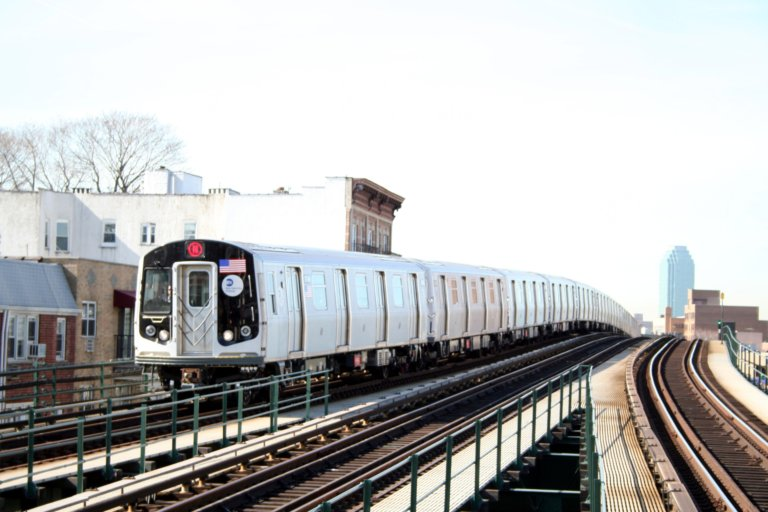(72k, 768x512)<br><b>Country:</b> United States<br><b>City:</b> New York<br><b>System:</b> New York City Transit<br><b>Line:</b> BMT Astoria Line<br><b>Location:</b> Astoria Boulevard/Hoyt Avenue <br><b>Route:</b> N<br><b>Car:</b> R-160B (Kawasaki, 2005-2008)  8748 <br><b>Photo by:</b> Neil Feldman<br><b>Date:</b> 3/30/2007<br><b>Viewed (this week/total):</b> 0 / 2762