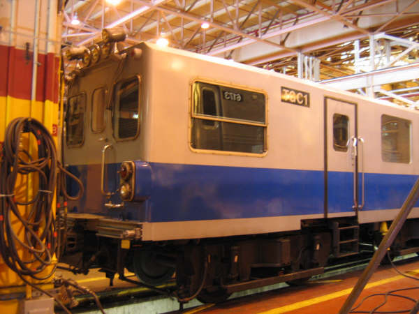 (48k, 600x450)<br><b>Country:</b> United States<br><b>City:</b> New York<br><b>System:</b> New York City Transit<br><b>Location:</b> Coney Island Shop/Overhaul & Repair Shop<br><b>Car:</b> Track Geometry Car TGC1 <br><b>Photo by:</b> Professor J<br><b>Date:</b> 4/14/2007<br><b>Viewed (this week/total):</b> 0 / 2154