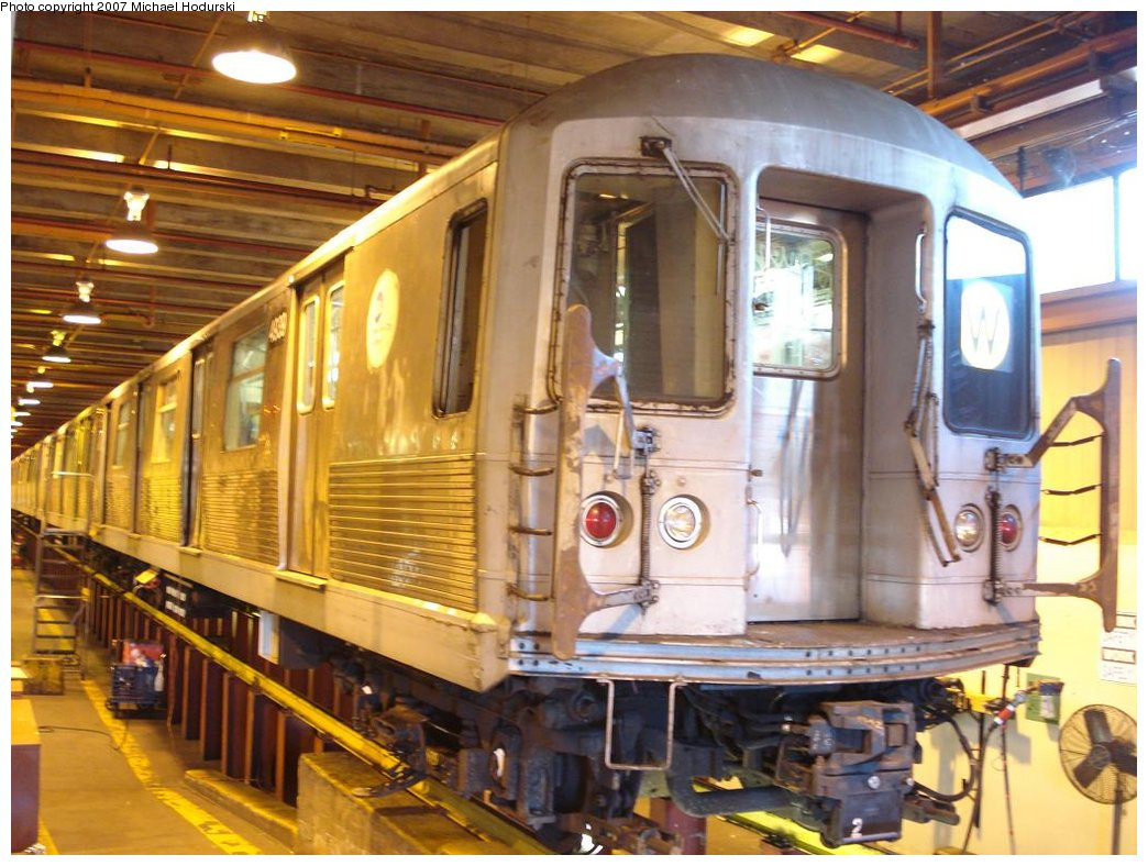 (195k, 1044x788)<br><b>Country:</b> United States<br><b>City:</b> New York<br><b>System:</b> New York City Transit<br><b>Location:</b> Coney Island Shop/Maint. & Inspection Shop<br><b>Car:</b> R-42 (St. Louis, 1969-1970)  4939 <br><b>Photo by:</b> Michael Hodurski<br><b>Date:</b> 4/14/2007<br><b>Viewed (this week/total):</b> 0 / 1970