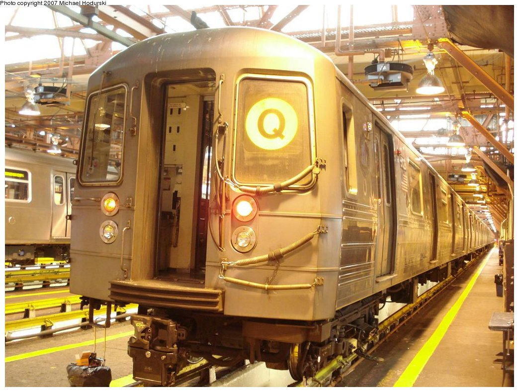 (208k, 1044x788)<br><b>Country:</b> United States<br><b>City:</b> New York<br><b>System:</b> New York City Transit<br><b>Location:</b> Coney Island Shop/Overhaul & Repair Shop<br><b>Car:</b> R-68A (Kawasaki, 1988-1989)  5028 <br><b>Photo by:</b> Michael Hodurski<br><b>Date:</b> 4/14/2007<br><b>Viewed (this week/total):</b> 0 / 1082