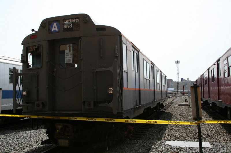 (111k, 800x533)<br><b>Country:</b> United States<br><b>City:</b> New York<br><b>System:</b> New York City Transit<br><b>Location:</b> Coney Island Yard<br><b>Car:</b> R-10 (American Car & Foundry, 1948) 3184 <br><b>Photo by:</b> Neil Feldman<br><b>Date:</b> 4/14/2007<br><b>Viewed (this week/total):</b> 2 / 2443