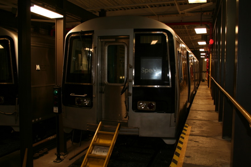 (106k, 800x533)<br><b>Country:</b> United States<br><b>City:</b> New York<br><b>System:</b> New York City Transit<br><b>Location:</b> Coney Island Yard-Training Facilities<br><b>Car:</b> R-110B (Bombardier, 1992) 3006 <br><b>Photo by:</b> Neil Feldman<br><b>Date:</b> 4/14/2007<br><b>Viewed (this week/total):</b> 1 / 2975