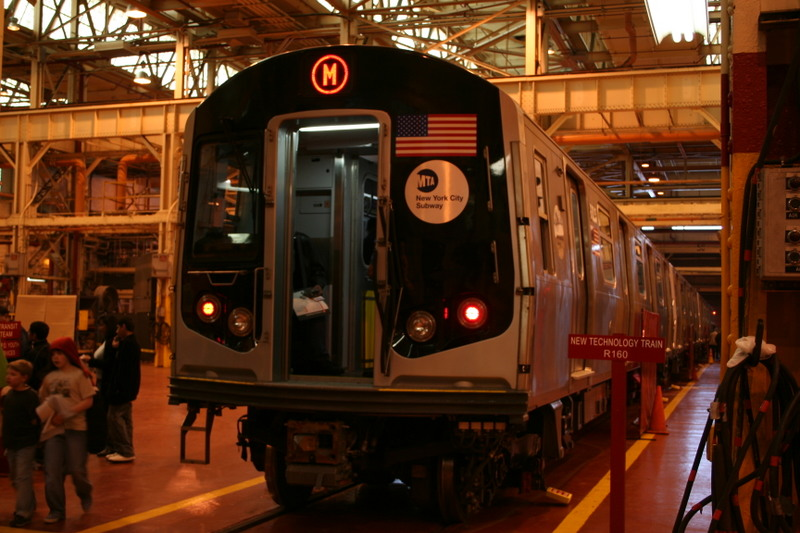 (150k, 800x533)<br><b>Country:</b> United States<br><b>City:</b> New York<br><b>System:</b> New York City Transit<br><b>Location:</b> Coney Island Shop/Overhaul & Repair Shop<br><b>Car:</b> R-160A-1 (Alstom, 2005-2008, 4 car sets)  8325 <br><b>Photo by:</b> Neil Feldman<br><b>Date:</b> 4/14/2007<br><b>Viewed (this week/total):</b> 0 / 3330
