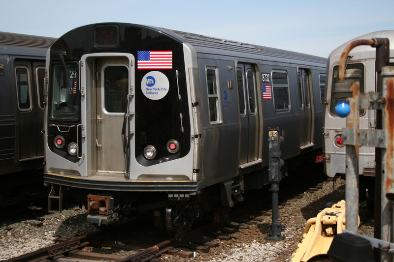 (133k, 800x533)<br><b>Country:</b> United States<br><b>City:</b> New York<br><b>System:</b> New York City Transit<br><b>Location:</b> Coney Island Yard<br><b>Car:</b> R-160B (Kawasaki, 2005-2008)  8732 <br><b>Photo by:</b> Neil Feldman<br><b>Date:</b> 4/14/2007<br><b>Viewed (this week/total):</b> 2 / 1667
