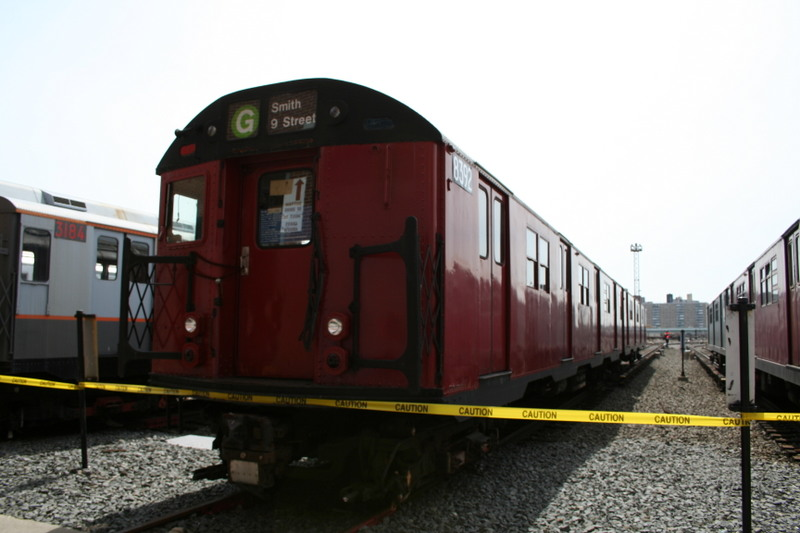 (103k, 800x533)<br><b>Country:</b> United States<br><b>City:</b> New York<br><b>System:</b> New York City Transit<br><b>Location:</b> Coney Island Yard<br><b>Car:</b> R-30 (St. Louis, 1961) 8392 <br><b>Photo by:</b> Neil Feldman<br><b>Date:</b> 4/14/2007<br><b>Viewed (this week/total):</b> 2 / 2293