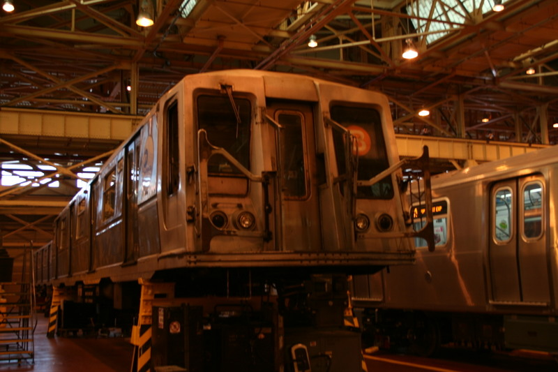 (129k, 800x533)<br><b>Country:</b> United States<br><b>City:</b> New York<br><b>System:</b> New York City Transit<br><b>Location:</b> Coney Island Shop/Overhaul & Repair Shop<br><b>Car:</b> R-40 (St. Louis, 1968)  4372 <br><b>Photo by:</b> Neil Feldman<br><b>Date:</b> 4/14/2007<br><b>Viewed (this week/total):</b> 0 / 1736