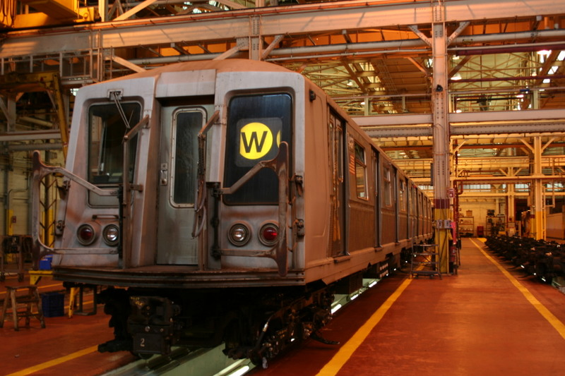 (157k, 800x533)<br><b>Country:</b> United States<br><b>City:</b> New York<br><b>System:</b> New York City Transit<br><b>Location:</b> Coney Island Shop/Overhaul & Repair Shop<br><b>Car:</b> R-40 (St. Louis, 1968)  4437 <br><b>Photo by:</b> Neil Feldman<br><b>Date:</b> 4/14/2007<br><b>Viewed (this week/total):</b> 0 / 1162