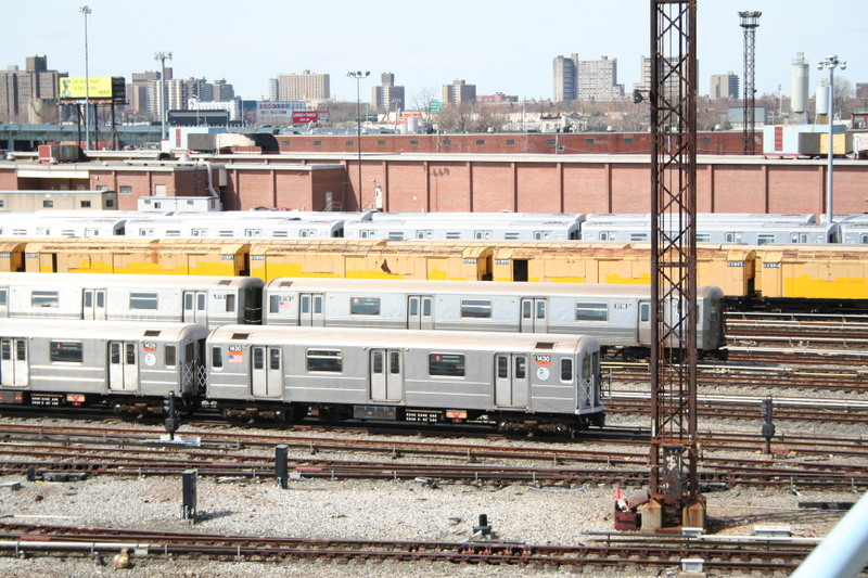 (194k, 800x533)<br><b>Country:</b> United States<br><b>City:</b> New York<br><b>System:</b> New York City Transit<br><b>Location:</b> Coney Island Yard<br><b>Car:</b> R-62 (Kawasaki, 1983-1985)  1430 <br><b>Photo by:</b> Neil Feldman<br><b>Date:</b> 4/14/2007<br><b>Viewed (this week/total):</b> 0 / 2301