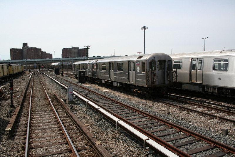 (163k, 800x533)<br><b>Country:</b> United States<br><b>City:</b> New York<br><b>System:</b> New York City Transit<br><b>Location:</b> Coney Island Yard<br><b>Car:</b> R-62A (Bombardier, 1984-1987)  2004 <br><b>Photo by:</b> Neil Feldman<br><b>Date:</b> 4/14/2007<br><b>Viewed (this week/total):</b> 0 / 1700