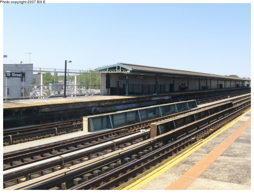(116k, 820x622)<br><b>Country:</b> United States<br><b>City:</b> New York<br><b>System:</b> New York City Transit<br><b>Line:</b> BMT West End Line<br><b>Location:</b> 79th Street <br><b>Photo by:</b> Bill E.<br><b>Date:</b> 5/13/2007<br><b>Viewed (this week/total):</b> 0 / 1497