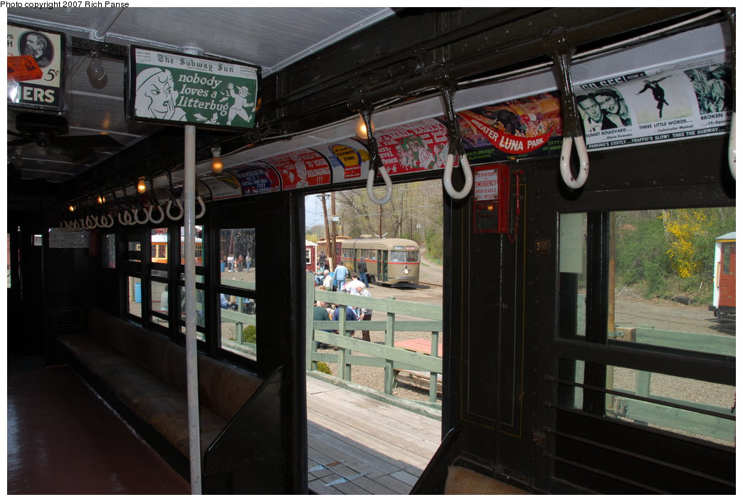 (189k, 1044x705)<br><b>Country:</b> United States<br><b>City:</b> East Haven/Branford, Ct.<br><b>System:</b> Shore Line Trolley Museum <br><b>Car:</b> Low-V 5466 <br><b>Photo by:</b> Richard Panse<br><b>Date:</b> 4/28/2007<br><b>Viewed (this week/total):</b> 0 / 911