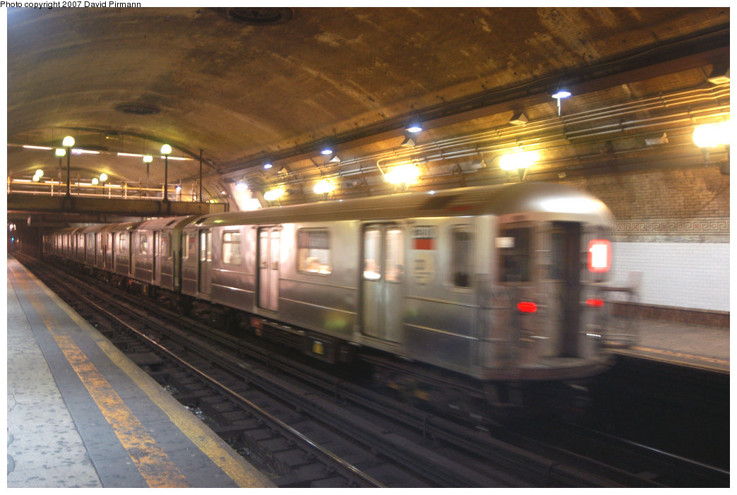 (197k, 1044x701)<br><b>Country:</b> United States<br><b>City:</b> New York<br><b>System:</b> New York City Transit<br><b>Line:</b> IRT West Side Line<br><b>Location:</b> 168th Street <br><b>Route:</b> 1<br><b>Car:</b> R-62A (Bombardier, 1984-1987)  2380 <br><b>Photo by:</b> David Pirmann<br><b>Date:</b> 6/9/2007<br><b>Viewed (this week/total):</b> 1 / 2887