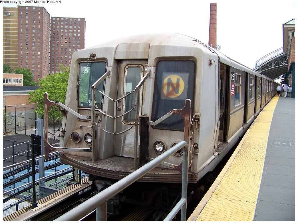 (216k, 1044x788)<br><b>Country:</b> United States<br><b>City:</b> New York<br><b>System:</b> New York City Transit<br><b>Location:</b> Coney Island/Stillwell Avenue<br><b>Route:</b> N<br><b>Car:</b> R-40 (St. Louis, 1968)  4215 <br><b>Photo by:</b> Michael Hodurski<br><b>Date:</b> 6/10/2007<br><b>Viewed (this week/total):</b> 0 / 1218