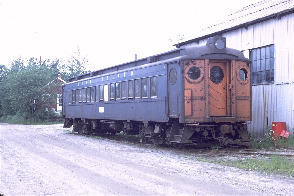 (197k, 1024x684)<br><b>Country:</b> United States<br><b>City:</b> Kennebunk, ME<br><b>System:</b> Seashore Trolley Museum <br><b>Car:</b> LIRR MP54  4137 <br><b>Photo by:</b> Doug Grotjahn<br><b>Collection of:</b> Joe Testagrose<br><b>Date:</b> 7/1/1972<br><b>Viewed (this week/total):</b> 2 / 1093