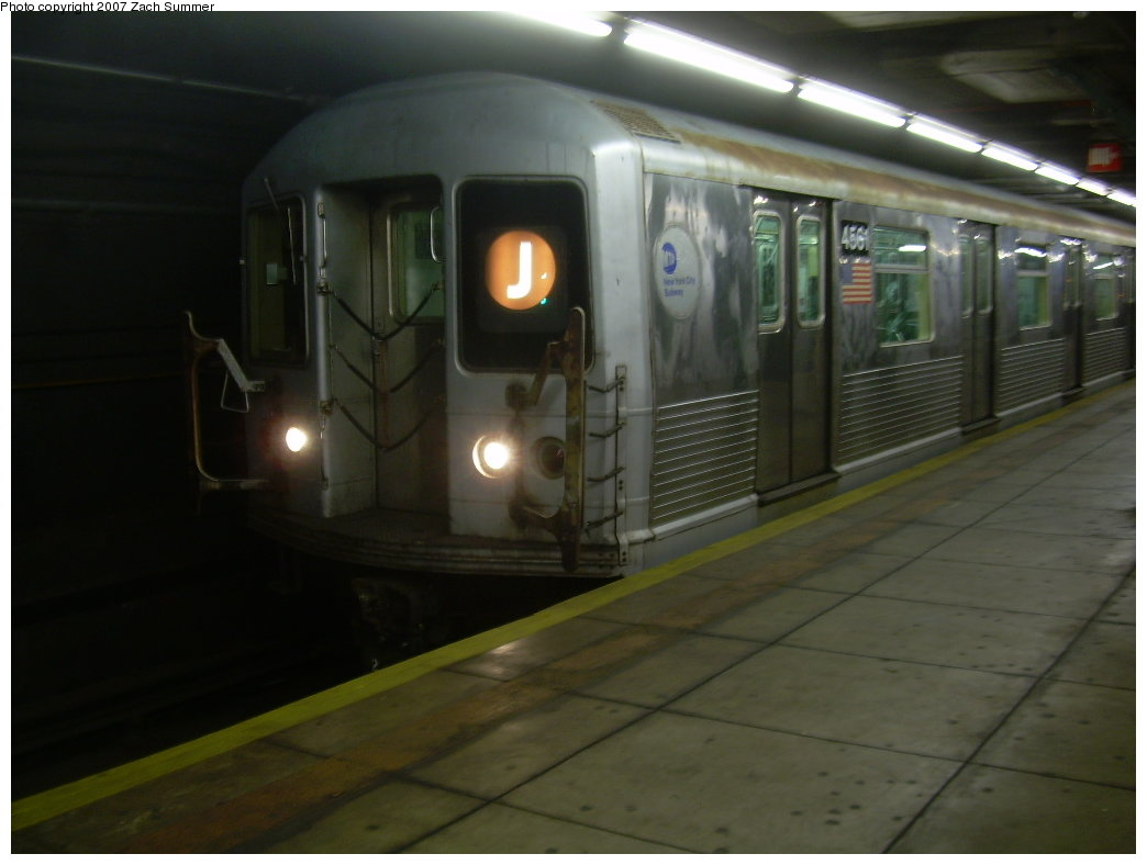(143k, 1044x788)<br><b>Country:</b> United States<br><b>City:</b> New York<br><b>System:</b> New York City Transit<br><b>Line:</b> BMT Broadway Line<br><b>Location:</b> Jay St./Metrotech (Lawrence St.) <br><b>Route:</b> J<br><b>Car:</b> R-42 (St. Louis, 1969-1970)  4561 <br><b>Photo by:</b> Zach Summer<br><b>Date:</b> 6/9/2007<br><b>Viewed (this week/total):</b> 5 / 2920