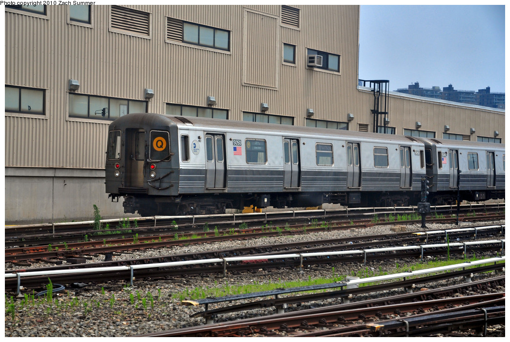 (306k, 1044x700)<br><b>Country:</b> United States<br><b>City:</b> New York<br><b>System:</b> New York City Transit<br><b>Location:</b> Coney Island Yard<br><b>Car:</b> R-68A (Kawasaki, 1988-1989)  5050 <br><b>Photo by:</b> Zach Summer<br><b>Date:</b> 6/27/2010<br><b>Viewed (this week/total):</b> 0 / 911