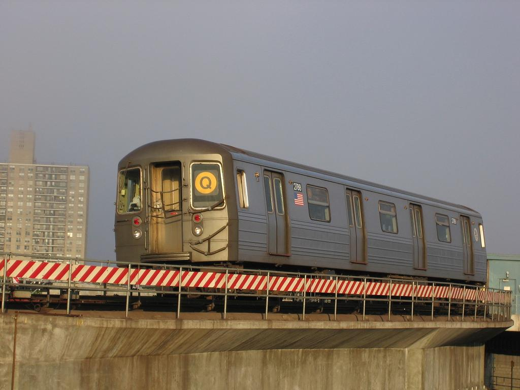 (90k, 1024x768)<br><b>Country:</b> United States<br><b>City:</b> New York<br><b>System:</b> New York City Transit<br><b>Location:</b> Coney Island/Stillwell Avenue<br><b>Route:</b> Q<br><b>Car:</b> R-68 (Westinghouse-Amrail, 1986-1988)  2788 <br><b>Photo by:</b> Michael Hodurski<br><b>Date:</b> 5/12/2006<br><b>Viewed (this week/total):</b> 6 / 1431