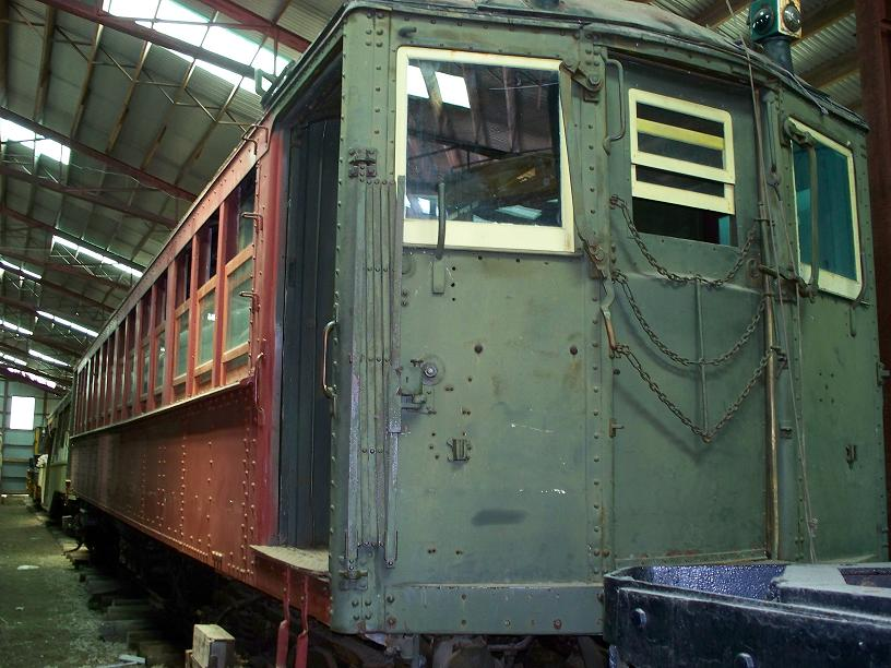 (105k, 816x612)<br><b>Country:</b> United States<br><b>City:</b> Kennebunk, ME<br><b>System:</b> Seashore Trolley Museum <br><b>Car:</b> Hi-V 3352 <br><b>Photo by:</b> Frank Hicks<br><b>Date:</b> 6/24/2007<br><b>Viewed (this week/total):</b> 2 / 1237
