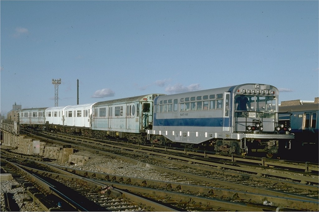 (189k, 1024x680)<br><b>Country:</b> United States<br><b>City:</b> New York<br><b>System:</b> New York City Transit<br><b>Location:</b> Coney Island Yard<br><b>Car:</b> Observation Car 0F116 <br><b>Photo by:</b> Steve Zabel<br><b>Collection of:</b> Joe Testagrose<br><b>Date:</b> 12/16/1981<br><b>Viewed (this week/total):</b> 7 / 3151