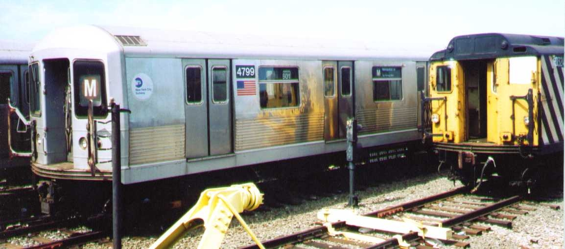 (177k, 1154x510)<br><b>Country:</b> United States<br><b>City:</b> New York<br><b>System:</b> New York City Transit<br><b>Location:</b> Coney Island Yard<br><b>Car:</b> R-42 (St. Louis, 1969-1970)  4799 <br><b>Photo by:</b> Bob Wright<br><b>Date:</b> 9/22/2002<br><b>Viewed (this week/total):</b> 0 / 1136
