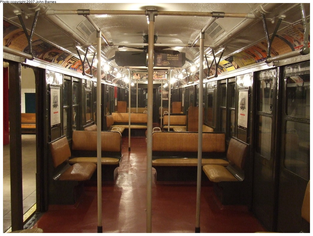 (185k, 1044x788)<br><b>Country:</b> United States<br><b>City:</b> New York<br><b>System:</b> New York City Transit<br><b>Location:</b> New York Transit Museum<br><b>Car:</b> BMT A/B-Type Standard 2204 <br><b>Photo by:</b> John Barnes<br><b>Date:</b> 7/19/2007<br><b>Viewed (this week/total):</b> 1 / 2033