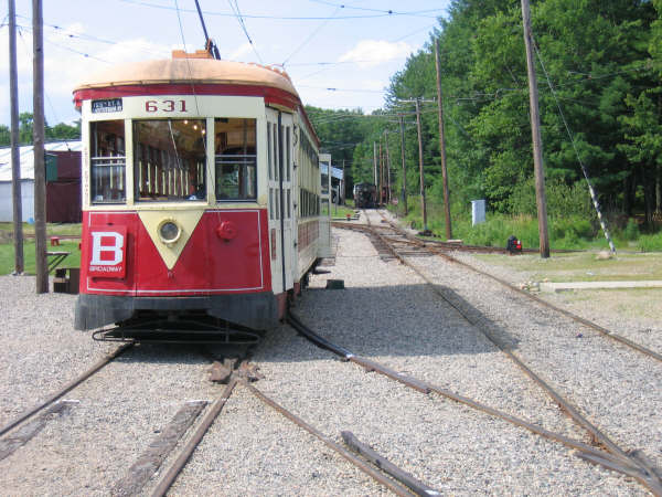 (57k, 600x450)<br><b>Country:</b> United States<br><b>City:</b> Kennebunk, ME<br><b>System:</b> Seashore Trolley Museum <br><b>Car:</b> TARS 631 <br><b>Photo by:</b> Professor J<br><b>Date:</b> 7/14/2007<br><b>Viewed (this week/total):</b> 1 / 773