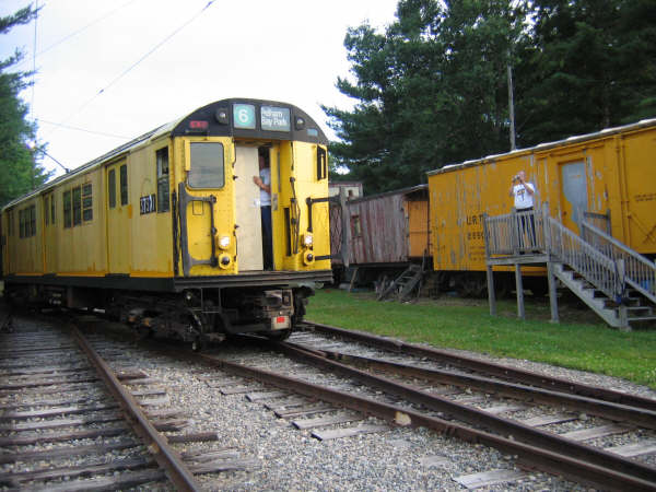 (50k, 600x450)<br><b>Country:</b> United States<br><b>City:</b> Kennebunk, ME<br><b>System:</b> Seashore Trolley Museum <br><b>Car:</b> R-22 (St. Louis, 1957-58) 37371 <br><b>Photo by:</b> Professor J<br><b>Date:</b> 7/14/2007<br><b>Viewed (this week/total):</b> 0 / 1123