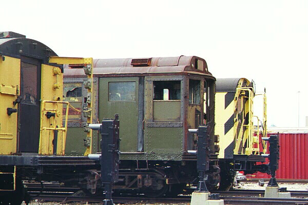 (99k, 600x400)<br><b>Country:</b> United States<br><b>City:</b> New York<br><b>System:</b> New York City Transit<br><b>Location:</b> Coney Island Yard-Museum Yard<br><b>Car:</b> Low-V Worlds Fair 5655 <br><b>Photo by:</b> Salaam Allah<br><b>Date:</b> 10/29/2000<br><b>Viewed (this week/total):</b> 0 / 3572