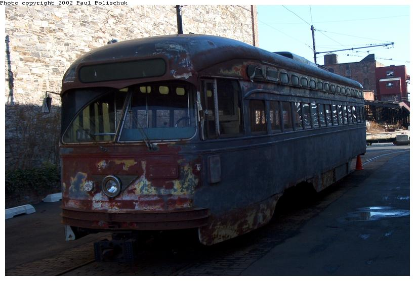 (65k, 820x556)<br><b>Country:</b> United States<br><b>City:</b> New York<br><b>System:</b> Brooklyn Trolley Museum <br><b>Photo by:</b> Paul Polischuk<br><b>Date:</b> 1/12/2002<br><b>Viewed (this week/total):</b> 0 / 4559