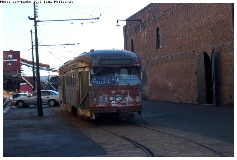 (60k, 820x556)<br><b>Country:</b> United States<br><b>City:</b> New York<br><b>System:</b> Brooklyn Trolley Museum <br><b>Photo by:</b> Paul Polischuk<br><b>Date:</b> 1/12/2002<br><b>Viewed (this week/total):</b> 7 / 5351