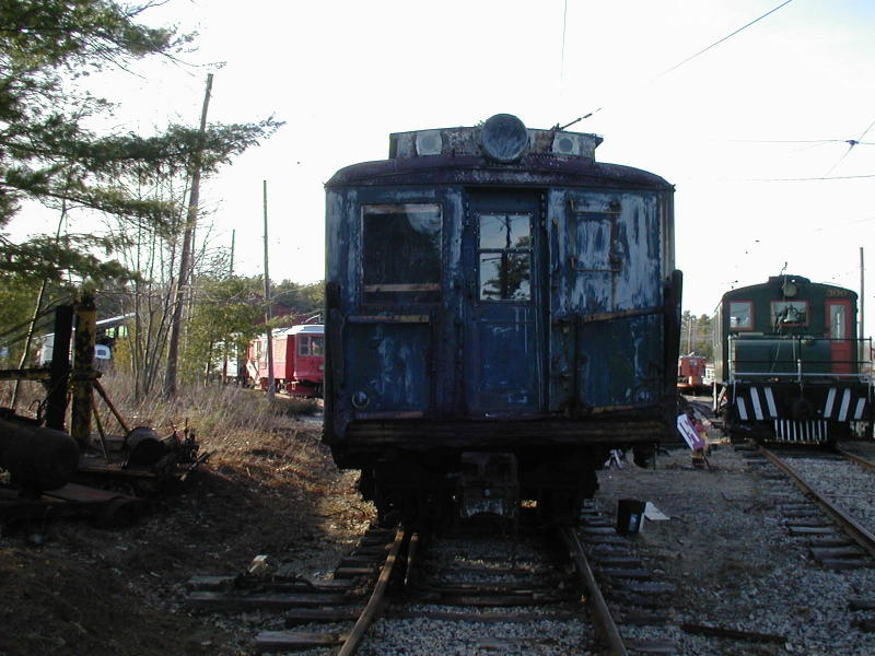 (91k, 800x600)<br><b>Country:</b> United States<br><b>City:</b> Kennebunk, ME<br><b>System:</b> Seashore Trolley Museum <br><b>Car:</b> SIRT ME-1 (Motor) 366 <br><b>Photo by:</b> Todd Glickman<br><b>Date:</b> 4/1/2000<br><b>Viewed (this week/total):</b> 0 / 2094