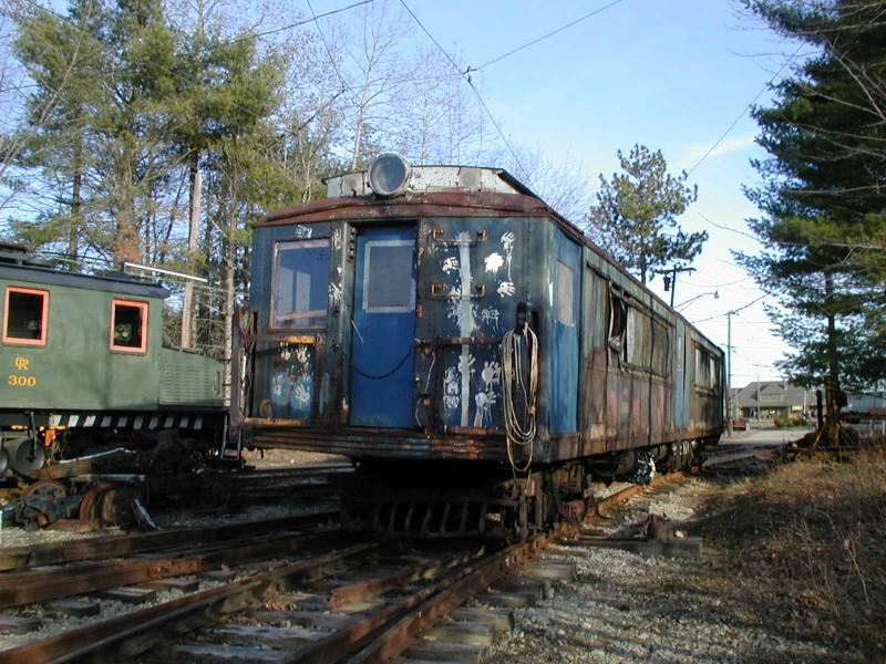 (123k, 800x600)<br><b>Country:</b> United States<br><b>City:</b> Kennebunk, ME<br><b>System:</b> Seashore Trolley Museum <br><b>Car:</b> SIRT ME-1 (Motor) 366 <br><b>Photo by:</b> Todd Glickman<br><b>Date:</b> 4/1/2000<br><b>Viewed (this week/total):</b> 0 / 2918