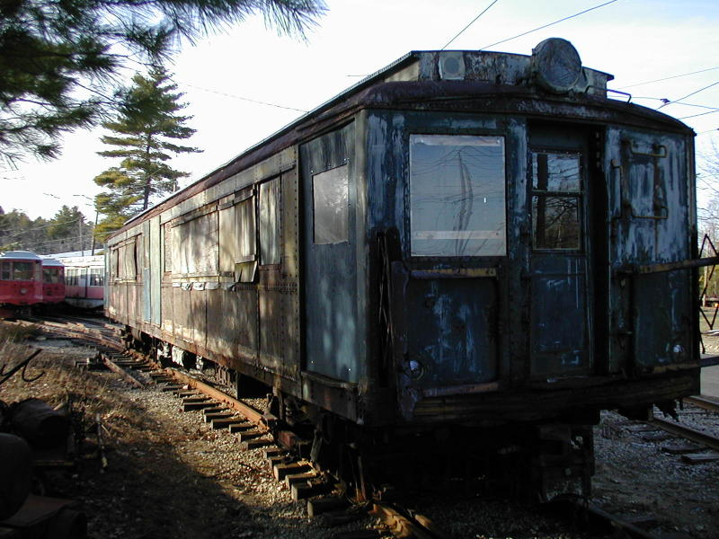 (103k, 800x600)<br><b>Country:</b> United States<br><b>City:</b> Kennebunk, ME<br><b>System:</b> Seashore Trolley Museum <br><b>Car:</b> SIRT ME-1 (Motor) 366 <br><b>Photo by:</b> Todd Glickman<br><b>Date:</b> 4/1/2000<br><b>Viewed (this week/total):</b> 1 / 2605