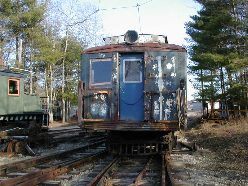 (132k, 800x600)<br><b>Country:</b> United States<br><b>City:</b> Kennebunk, ME<br><b>System:</b> Seashore Trolley Museum <br><b>Car:</b> SIRT ME-1 (Motor) 366 <br><b>Photo by:</b> Todd Glickman<br><b>Date:</b> 4/1/2000<br><b>Viewed (this week/total):</b> 3 / 1867