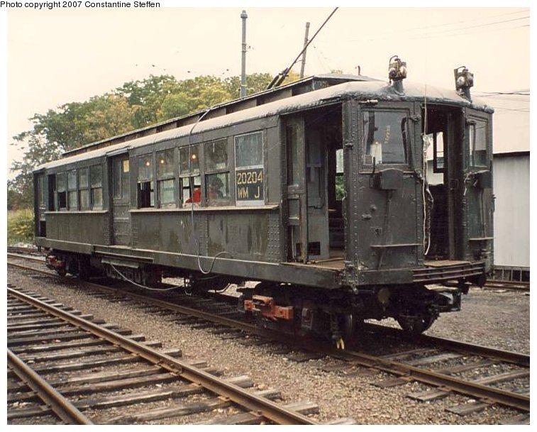 (115k, 757x609)<br><b>Country:</b> United States<br><b>City:</b> East Haven/Branford, Ct.<br><b>System:</b> Shore Line Trolley Museum <br><b>Car:</b> Hi-V 3662 <br><b>Photo by:</b> Constantine Steffan<br><b>Date:</b> 10/10/1998<br><b>Viewed (this week/total):</b> 2 / 2518